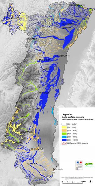 Carte Inondation Alsace.Atlas Des Paysages D Alsace L Eau