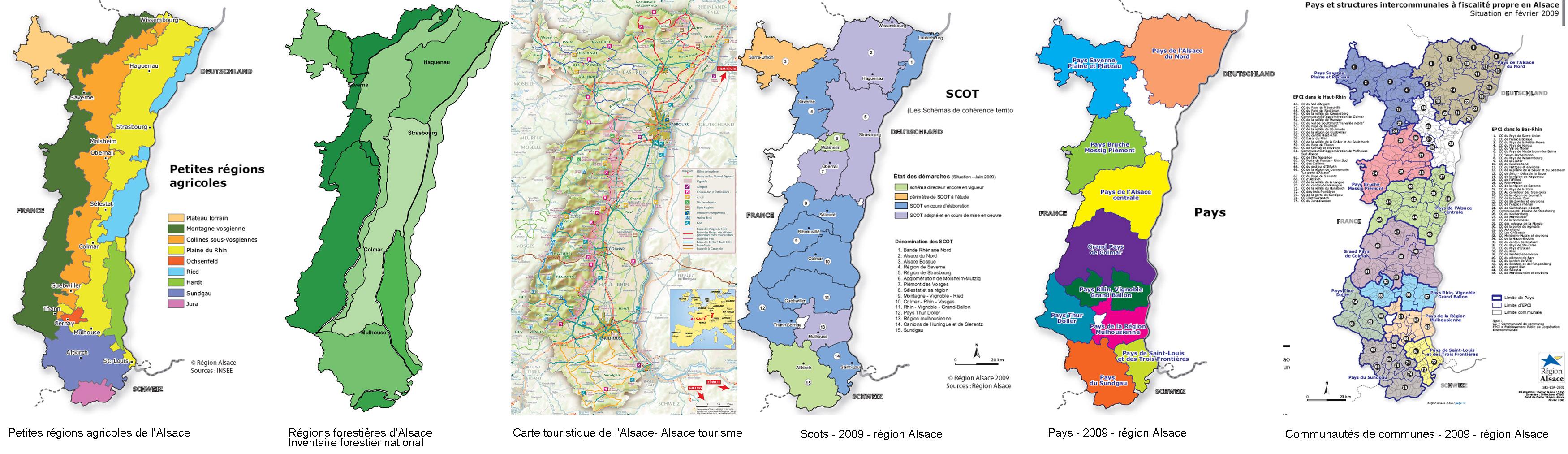 Carte Dalsace Touristique.Les Cartes Thematiques Agriculture Foret Tourisme